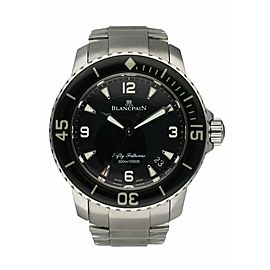 Blancpain Fifty Fathoms Automatique 5015 1130 52A Men's Watch Box Papers