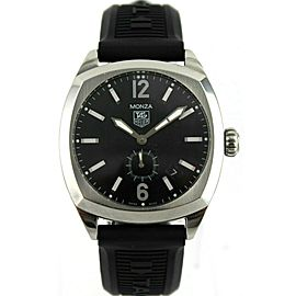 TAG HEUER MONZA WR2110.BT0714 MENS AUTOMATIC BLACK RUBBER BARGAIN PRICED WATCH