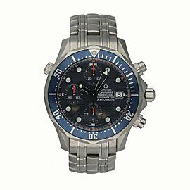 Omega Seamaster 2298.80.00 Titan Chronograph Titanium Men's Watch