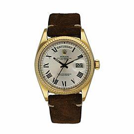 Rolex Day Date 1803 18K Yellow Gold Buckley Dial Men's Watch