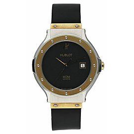 Ladies Hublot 1391.2 MDM 18K Yellow Gold & Stainless Steel Ladies Watch