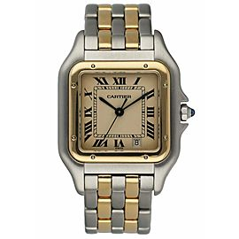 Cartier Panthere 187949C Two Row Midsize Ladies Watch