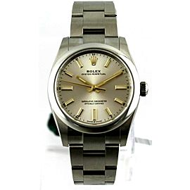Rolex Oyster Perpetual 124200 34MM Gold Accents Watch