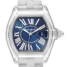 Cartier Roadster XL 100th Anniversary Blue Dial Mens Watch W6206012