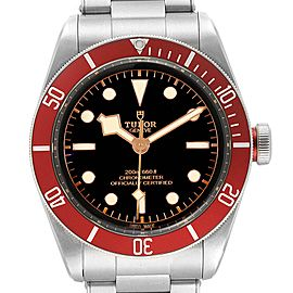 Tudor Heritage Black Bay Burgundy Bezel Mens Watch 79230R Box Papers