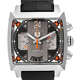Tag Heuer Monaco Twenty Four Chronograph Mens Watch CAL5112