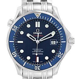 Omega Seamaster Bond 300M Co-Axial 41mm Blue Dial Watch 2220.80.00