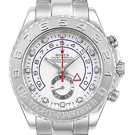 Rolex Yachtmaster II Regatta Chronograph White Gold Platinum Watch 116689