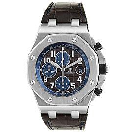 Audemars Piguet Royal Oak Offshore Brown Dial Chronograph Watch 26470ST
