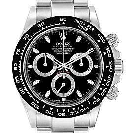 Rolex Daytona Black Dial Chronograph Mens Watch 116500 Unworn