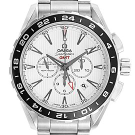 Omega Seamaster Aqua Terra GMT Watch 231.10.44.52.04.001 Box Card