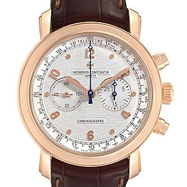 Vacheron Constantin Malte Rose Gold Manual Chronograph Mens Watch 47120