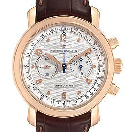 Vacheron Constantin Malte Rose Gold Manual Chronograph Mens Watch 47120