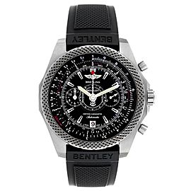 Breitling Bentley Super Sports Rubber Strap Mens Watch E27365