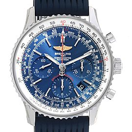 Breitling Navitimer 01 Blue Dial Limited Edition Mens Watch AB0121 Unworn