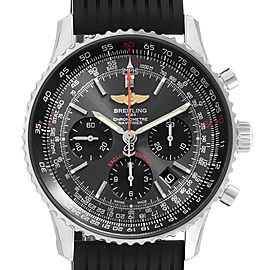 Breitling Navitimer 01 Grey Dial Limited Edition Mens Watch AB0121 Unworn