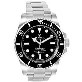Rolex Submariner Ceramic Bezel Oyster Bracelet Steel Mens Watch 114060