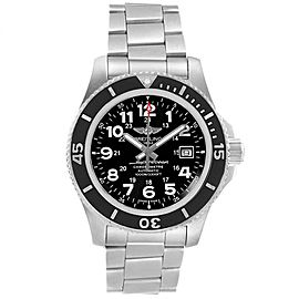 Breitling Superocean II 44 Black Dial Mens Watch A17392