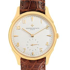 Vacheron Constantin Historique 33mm Yellow Gold Mens Watch 92239