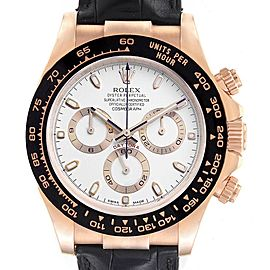 Rolex Cosmograph Daytona Rose Gold Everose Mens Watch 116515 Unworn