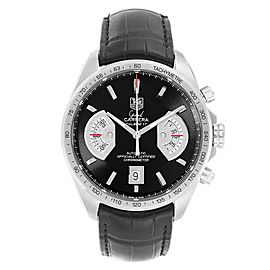Tag Heuer Grand Carrera Black Dial Automatic Mens Watch CAV511A