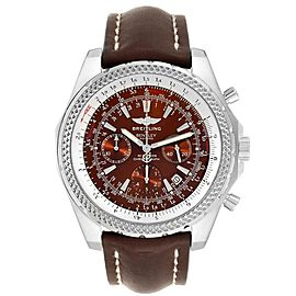 Breitling Bentley Bronze Dial Chronograph Steel Mens Watch A25362