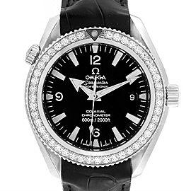 Omega Seamaster Planet Ocean Diamond Mens Watch 222.18.42.20.01.001