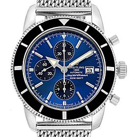 Breitling SuperOcean Heritage Chronograph 46 Blue Dial Watch A13320