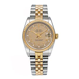 Rolex Lady Datejust 68273 31mm Womens Watch