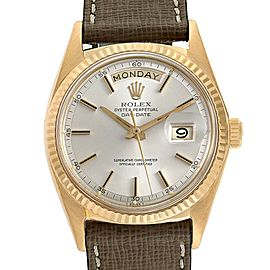 Rolex President Day-Date Yellow Gold Vintage Mens Watch 1803