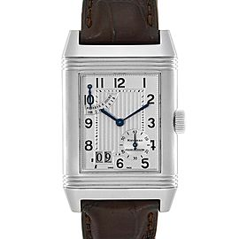 Jaeger LeCoultre Reverso XGT Grande Date 8 Day Mens Watch 240.8.15