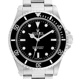 Rolex Submariner 40mm Non-Date 2 Liner Steel Steel Mens Watch 14060