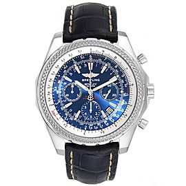 Breitling Bentley Motors Blue Dial Chronograph Watch A25362