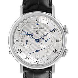 Breguet Classique Alarm Le Reveil du Tsar 18K White Gold Watch 5707