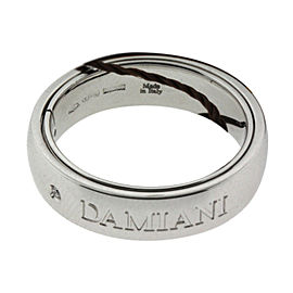 Damiani 18K White Gold Diamond Orbital Ring
