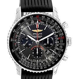 Breitling Navitimer 01 Gray Dial Limited Edition Watch AB0127 Unworn