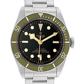 Tudor Heritage Black Bay Harrods Green Special Edition Mens Watch 79230G