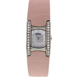 Ebel Beluga with Diamonds & MOP Dial Ladies Watch