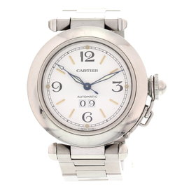 Cartier Pasha de Automatic 2475 Stainless Steel Unisex Watch