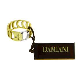 Damiani 18K Yellow & White Gold Damianissima Diamond Ring