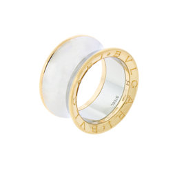 Bulgari Anish Kapoor 18K Rose Gold & Steel Ring