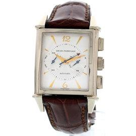 Girard Perregaux 18K White Gold Skeleton Back Men's Watch