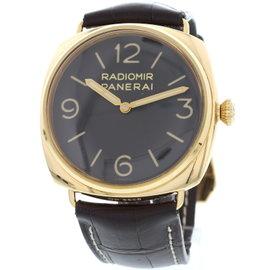 Panerai Radiomir PAM00379 18K Rose Gold Men's Watch