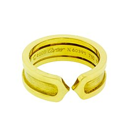 Cartier 18K Yellow gold C2 Ring