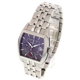 Perrelet Power Reserve Stainless Steel Sapphire Mens Watch Dial Size 7.5