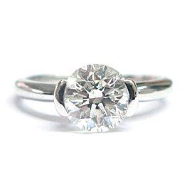 Ritani 18K White Gold 1.77ctw. Solitaire Diamond Engagement Ring Size 6