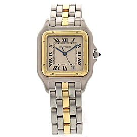 Cartier 187949 Panthere 18K Yellow Gold & Stainless Steel Midsize Unisex Watch