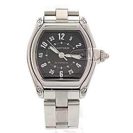 Cartier 2510 Roadster Stainless Steel Automatic Mens Watch