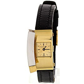 Tiffany & Co. 18K White & Yellow Gold Vintage Womens Watch