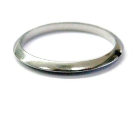 Tiffany & Co. Platinum Wedding Band Size 6 Ring